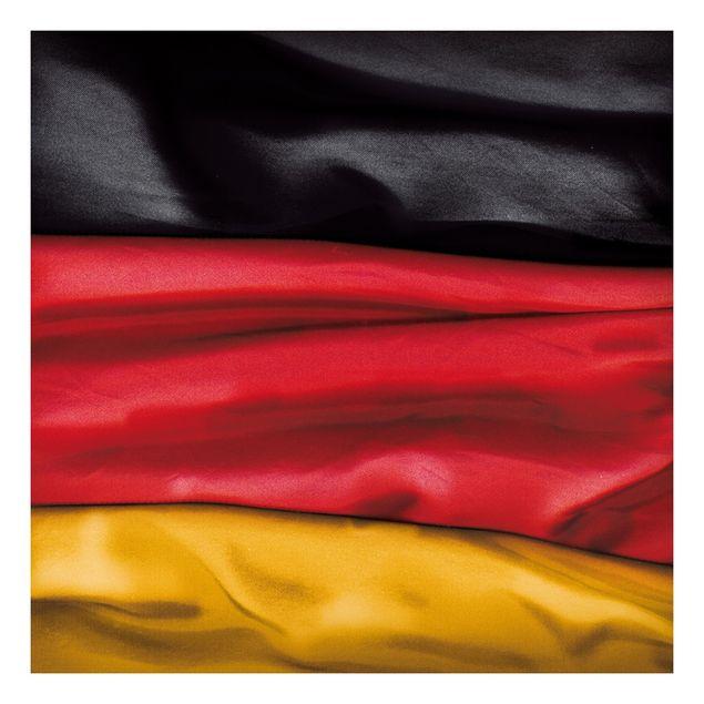 Beistelltisch - Deutschlandfahne geschwungen