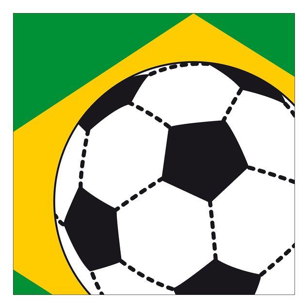 Beistelltisch - Fußball Brasilien