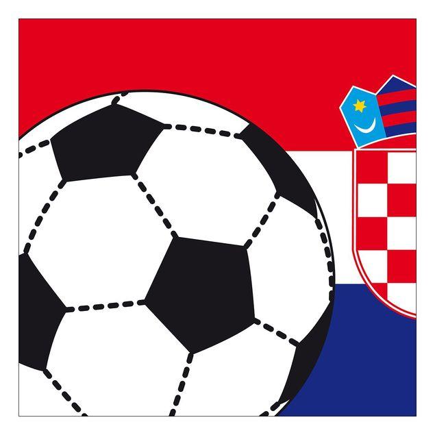 Beistelltisch - Fußball Kroatien