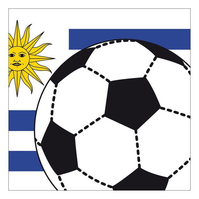 Beistelltisch - Fußball Uruguay