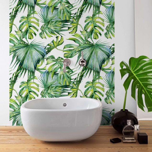 Klebefolie - Dschungel Blätter