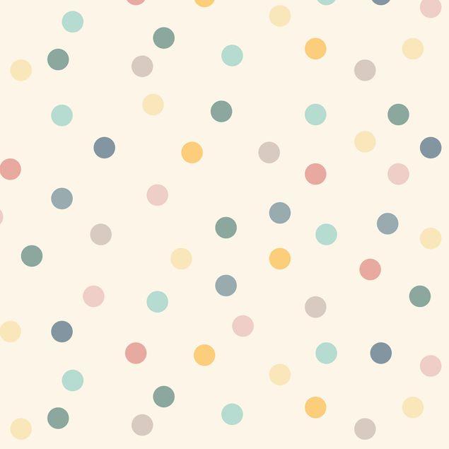 Klebefolie - Konfetti Punkte Muster - Selbstklebende Folie
