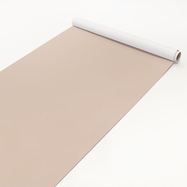 Klebefolie beige einfarbig - Macchiato - Selbstklebende Folie