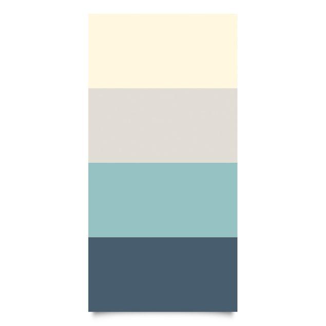 Klebefolie Set Lagune - Kaschmir Meersand Pastelltürkis Schieferblau - Dekorfolie