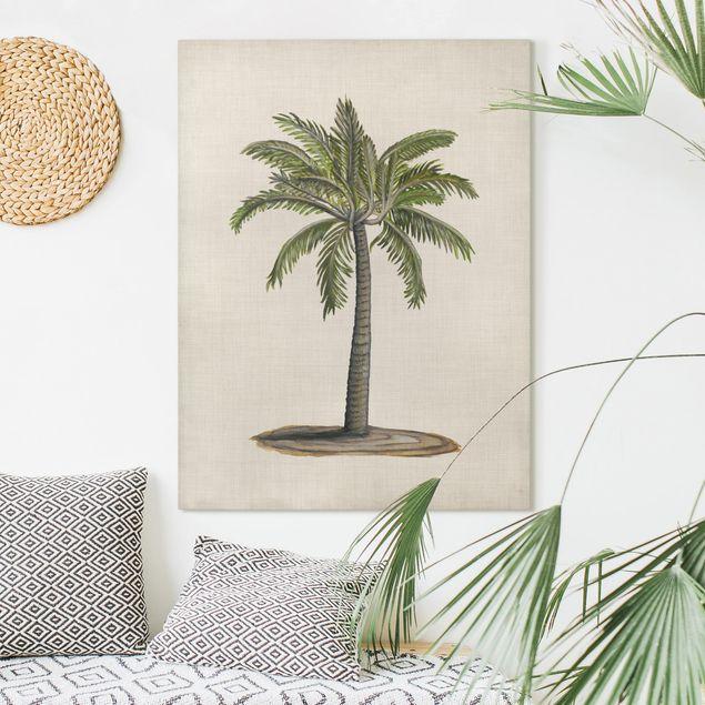 Leinwandbild - Britische Palmen I - Hochformat 4:3