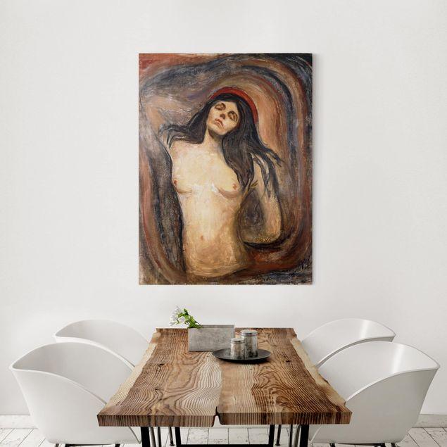 Leinwandbild - Edvard Munch - Madonna - Hoch 3:4
