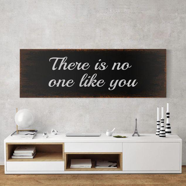 Leinwandbild - No.KA15 No One Like You - Panorama Quer
