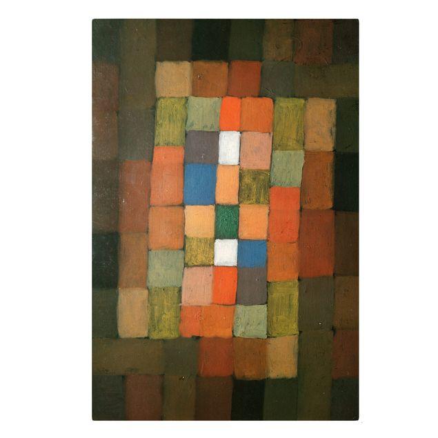Leinwandbild - Paul Klee - Statisch-Dynamische Steigerung - Hoch 2:3