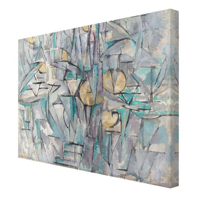 Leinwandbild - Piet Mondrian - Komposition X - Quer 4:3