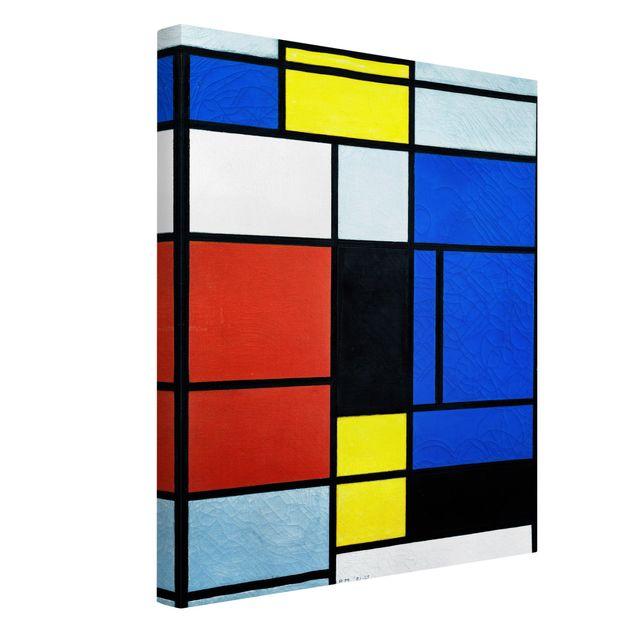 Leinwandbild - Piet Mondrian - Tableau No. 1 - Hoch 3:4