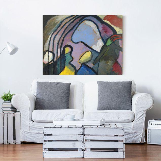 Leinwandbild - Wassily Kandinsky - Studie für Improvisation 10 - Quer 4:3