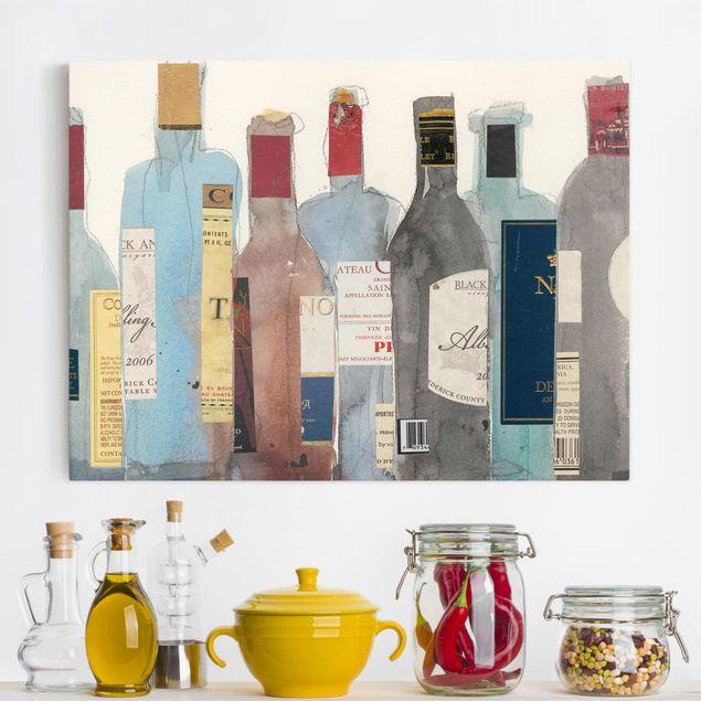 Leinwandbild - Wein & Spirituosen II - Querformat 3:4