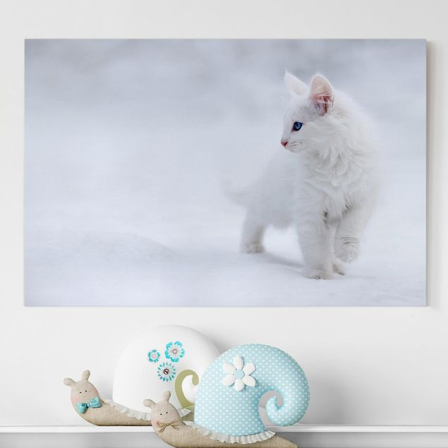 Leinwandbild - Weiß wie Schnee - Quer 3:2