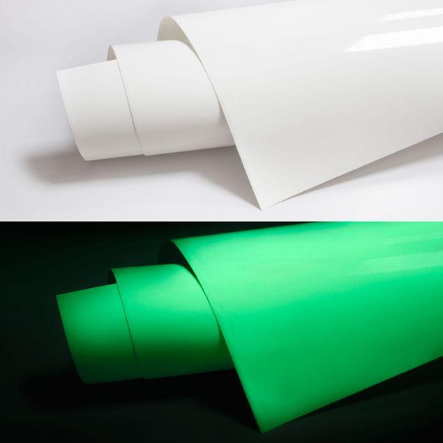 Selbstklebende Folie - Leuchtfolie - Nachleuchtende fluoreszierende Klebefolie