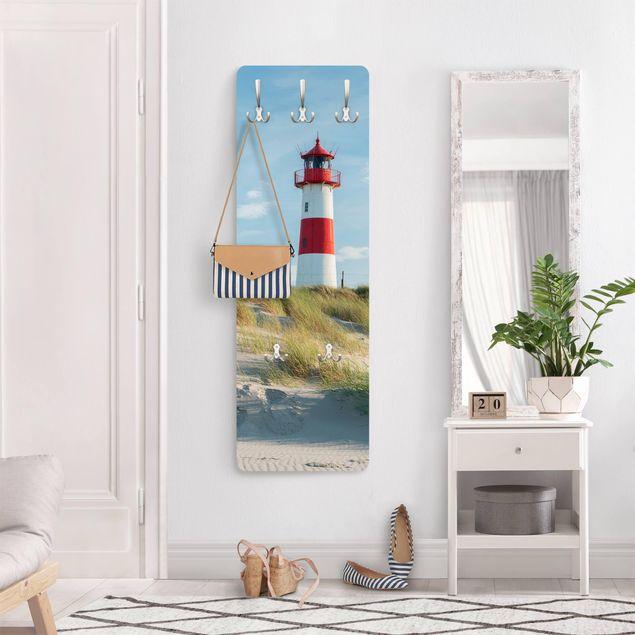 Garderobe - Leuchtturm an der Nordsee