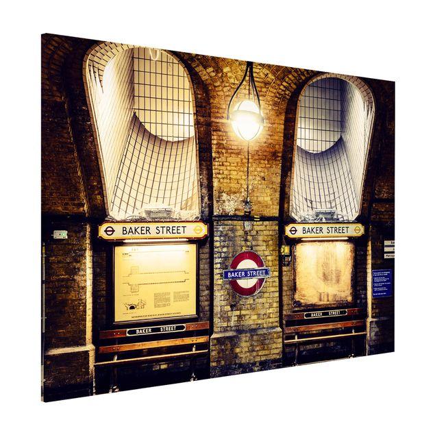 Magnettafel - Baker Street - Memoboard Quer
