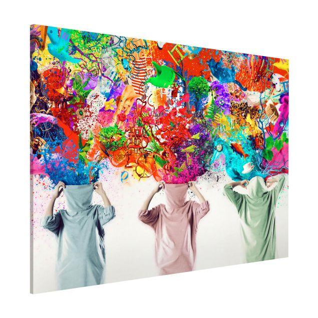 Magnettafel - Brain Explosions - Memoboard Quer