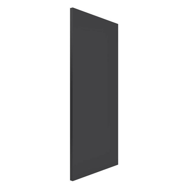 Magnettafel - Colour Dark Grey - Memoboard Panorama Hoch