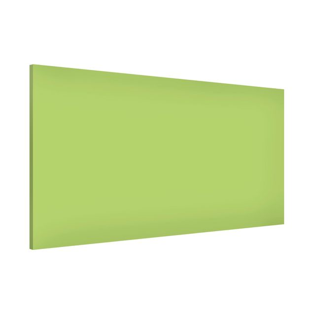 Magnettafel - Colour Spring Green - Memoboard Panorama Quer