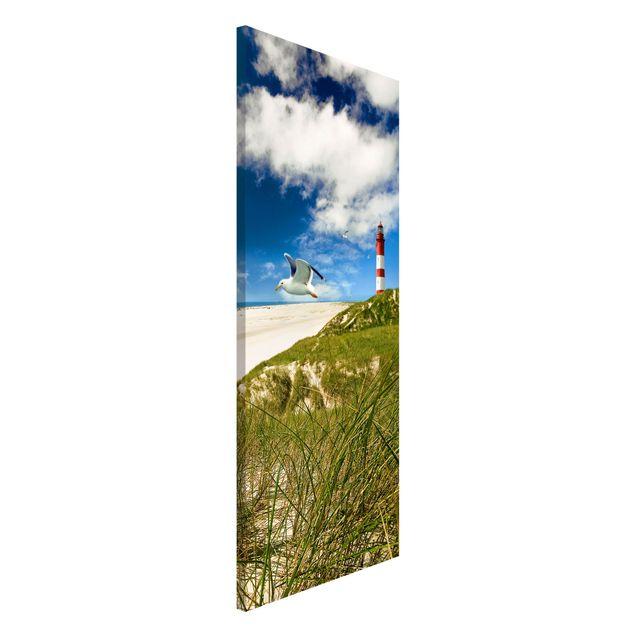Magnettafel - Dune Breeze - Memoboard Panorama Hoch