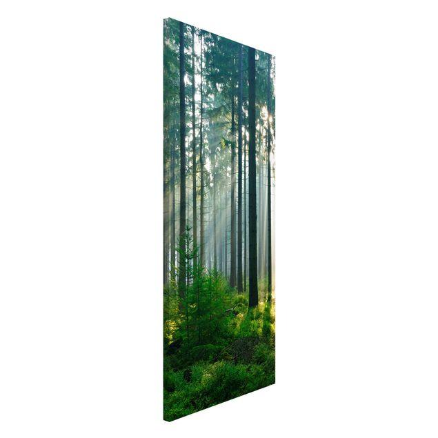 Magnettafel - Enlightened Forest - Memoboard Panorama Hoch