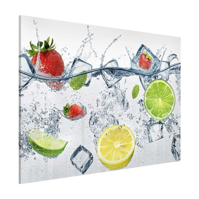 Magnettafel - Frucht Cocktail - Memoboard Querformat