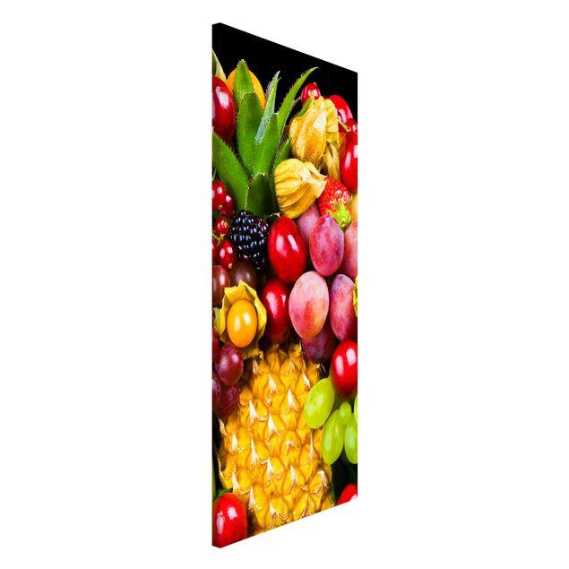 Magnettafel - Fruit Bokeh - Memoboard Panorama Hoch