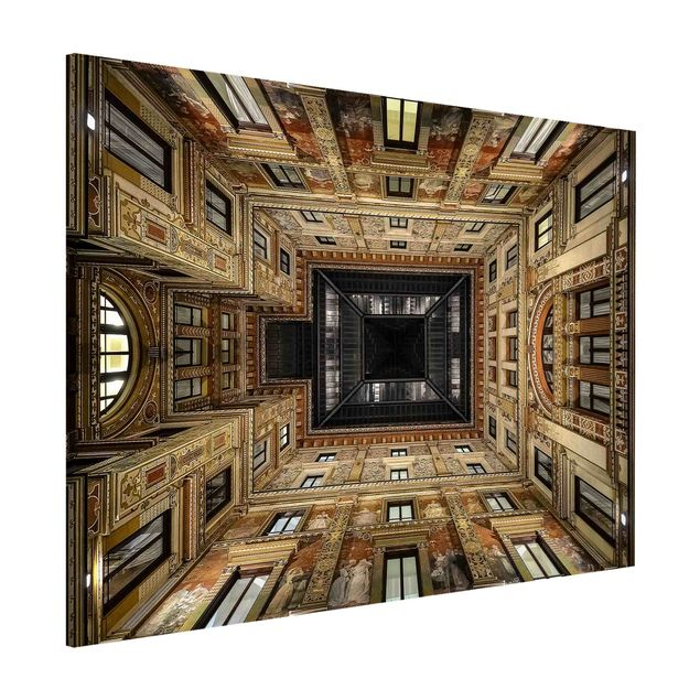 Magnettafel - Galleria Sciarra in Rom - Memoboard Querformat