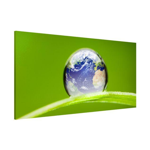 Magnettafel - Grüne Hoffnung - Memoboard Panorama Quer