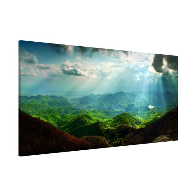 Magnettafel - Heavenly Ground - Memoboard Panorama Quer
