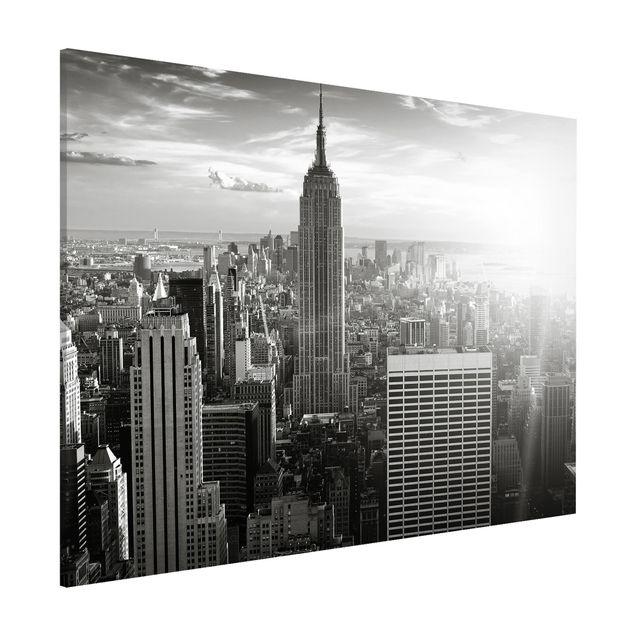 Magnettafel - Manhattan Skyline - Memoboard Quer