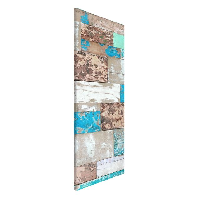 Magnettafel - Maritime Planks - Memoboard Panorama Hoch