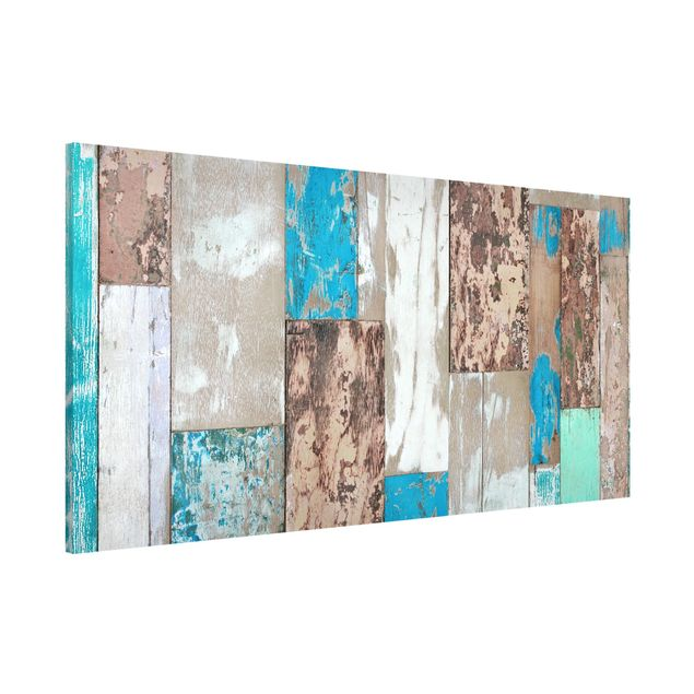 Magnettafel - Maritime Planks - Memoboard Panorama Quer