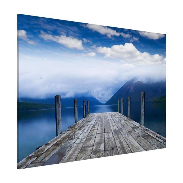 Magnettafel - Nelson Lakes National Park Neuseeland - Memoboard Hoch