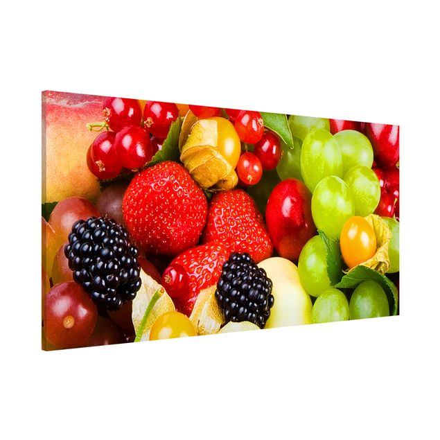 Magnettafel - Obst Mix - Memoboard Panorama Quer