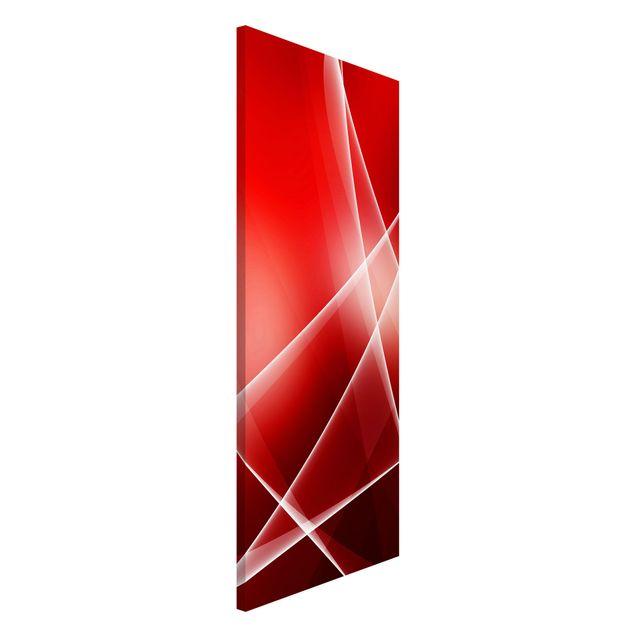 Magnettafel - Red Heat - Memoboard Panorama Hoch