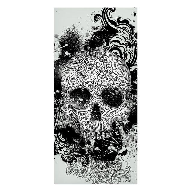 Magnettafel - Skull - Memoboard Panorama Hoch