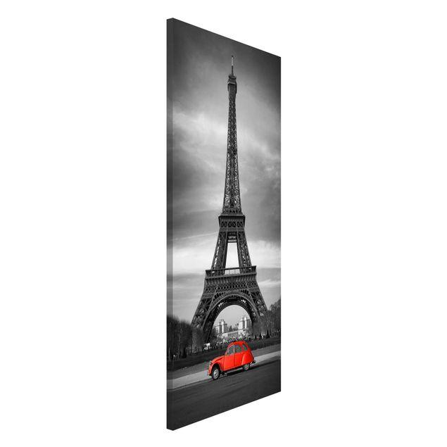 Magnettafel - Spot on Paris - Memoboard Panorama Hoch