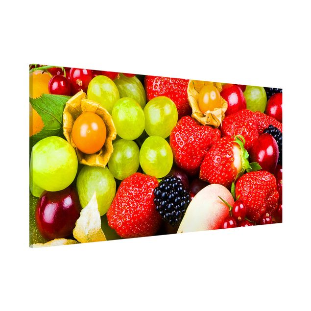 Magnettafel - Tropical Fruits - Memoboard Panorama Quer