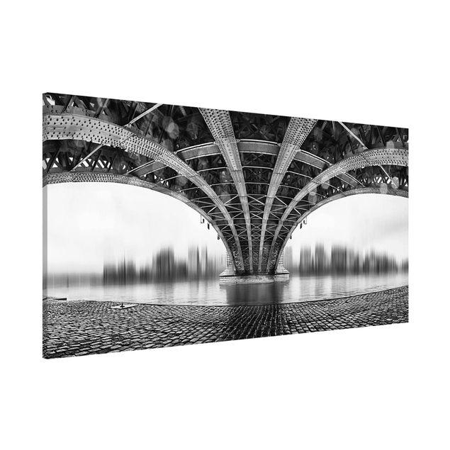 Magnettafel - Under The Iron Bridge - Memoboard Panorama Quer