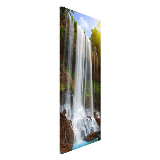 Magnettafel - Waterfalls - Memoboard Panorama Hoch