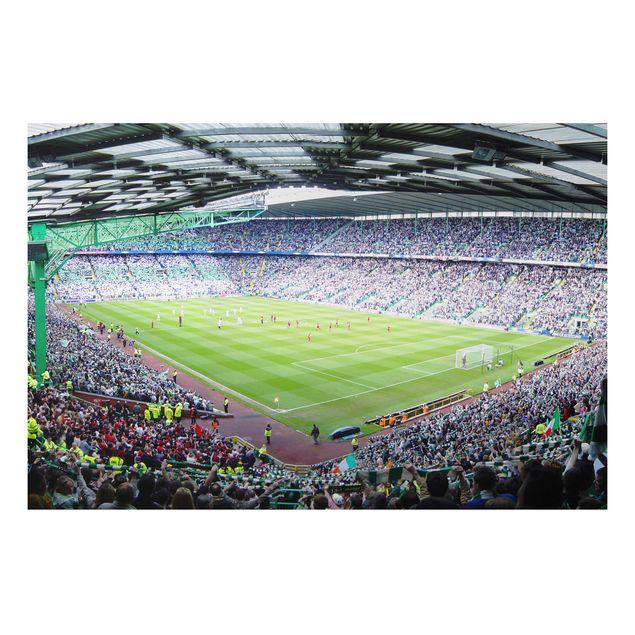 Alu-Dibond Bild - Fußballstadion