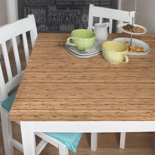 Möbelfolie - Bambusfolie - Folie für Möbel selbstklebend