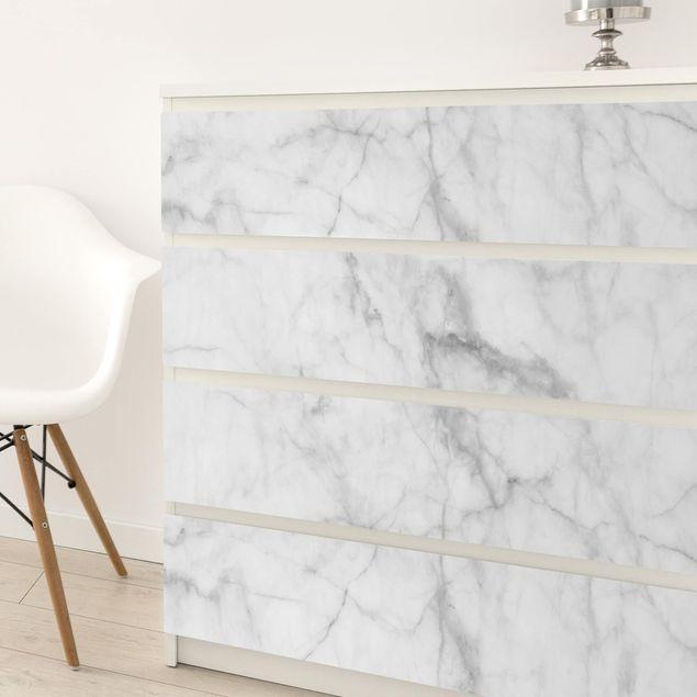 Möbelfolie - Bianco Carrara