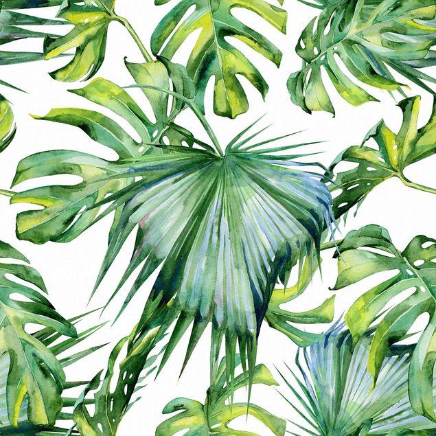 Möbelfolie - Dschungel Blätter