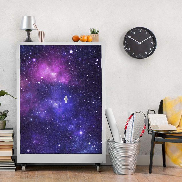 Möbelfolie - Galaxie - Folie für Möbel selbstklebend