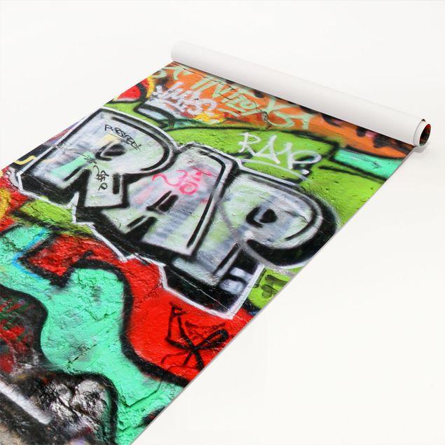 Möbelfolie - Graffiti Wall - Design Dekorfolie