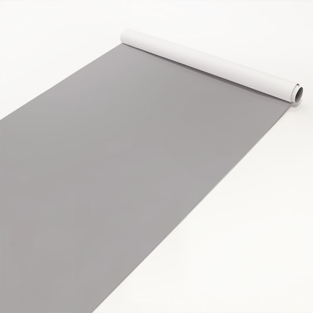 Möbelfolie grau einfarbig - Achatgrau - Möbel Klebefolie hellgrau selbstklebend
