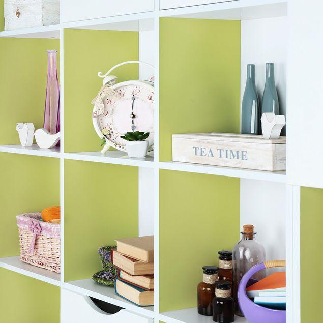 Möbelfolie hellgrün einfarbig - Pastellgrün - Klebefolie für Möbel grün