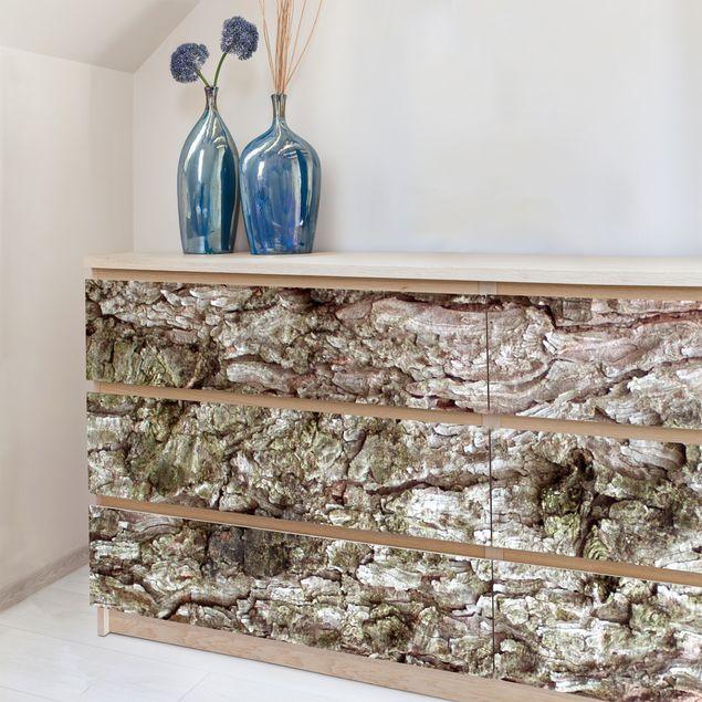 Möbelfolie Holz - Baumrinde - Holzdekorfolie